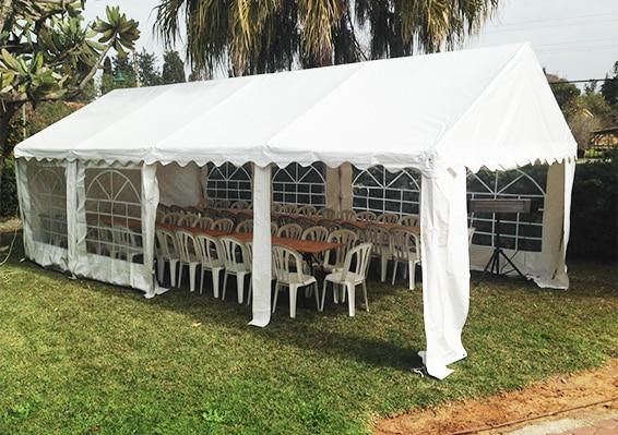 השכרת אוהלים וציוד נלווה בפתח תקווה