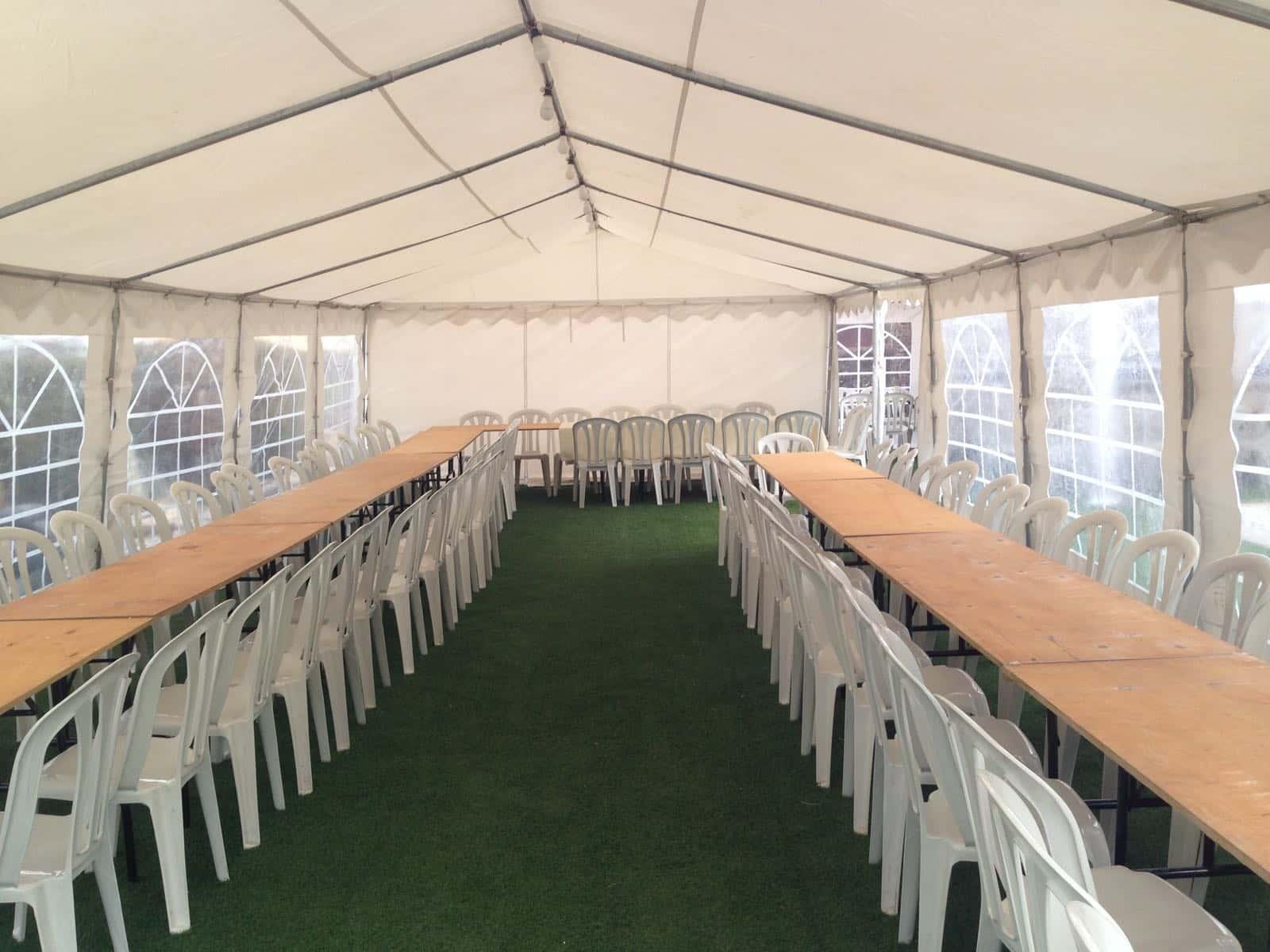 אוהל ענק להשכרה