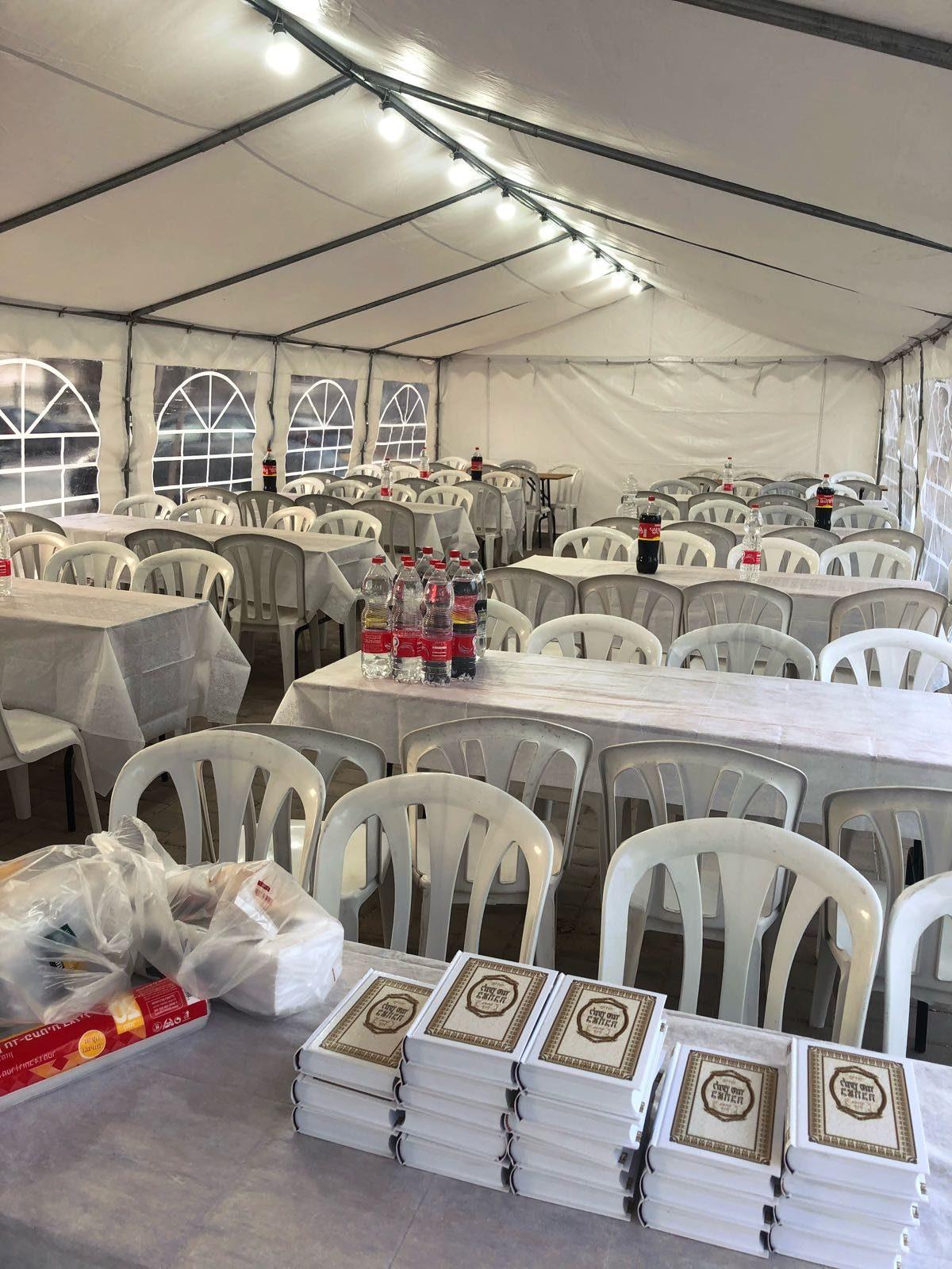 כיצד בוחרים אוהל לשבת חתן?